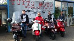 Elindultak a 2014-es Vespa World Day-re Montovába